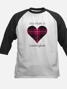 Heart - Cunningham Kids Baseball Jersey