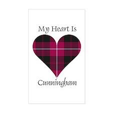 Heart - Cunningham Decal