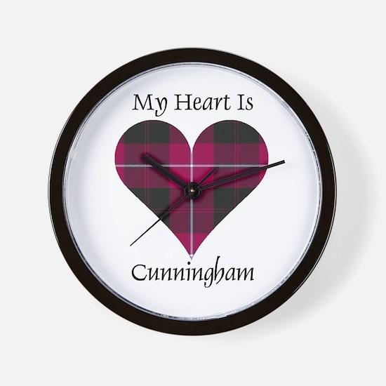 Heart - Cunningham Wall Clock