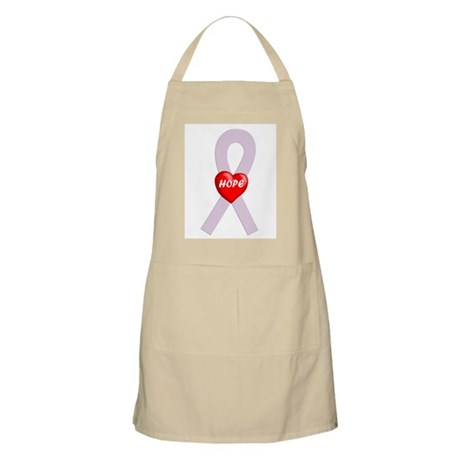 Orchid Hope Heart BBQ Apron