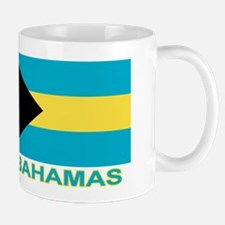 Bahamian Flag (labeled) Mug