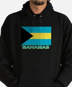 Bahamian Flag (labeled) Hoodie (dark)