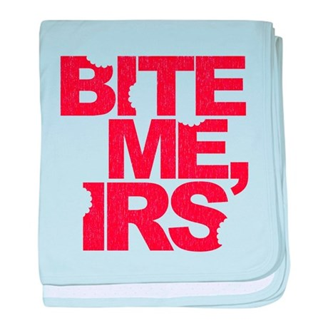Bite Me, IRS baby blanket