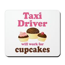 Funny Taxi Driver Mousepad