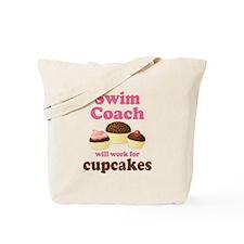 Funny Swim Coach Tote Bag