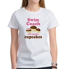 Funny Swim Coach Tee