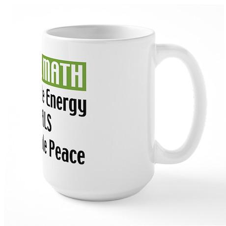 Do the Math Large Mug