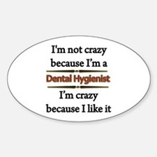 Cute Dental health Decal