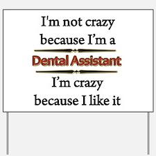 Student nurse humor Yard Sign