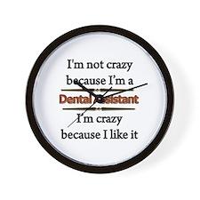 Unique Dental assistant Wall Clock