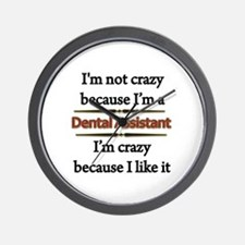 Cool Dental assistant Wall Clock