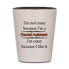 Unique Dental assistant Shot Glass