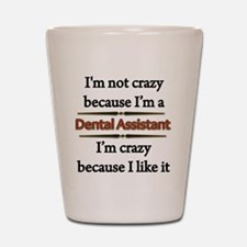 Unique Dental assistant Shot Glass