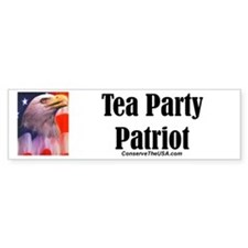Tea Party Patriot Car Sticker