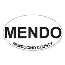 MENDO Oval Decal