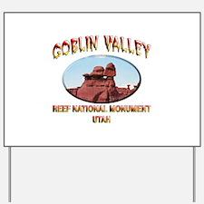 Goblin Valley Utah Yard Sign