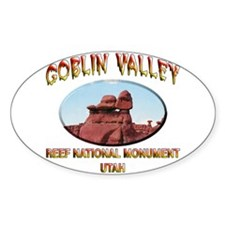 Goblin Valley Utah Decal