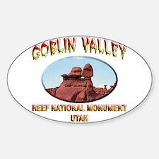 Goblin Valley Utah Decal