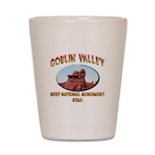 Goblin Valley Utah Shot Glass