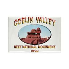 Goblin Valley Utah Rectangle Magnet