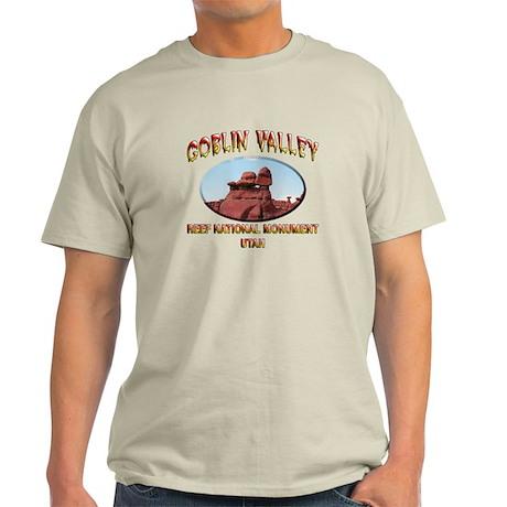 Goblin Valley Utah Light T-Shirt