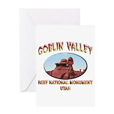 Goblin Valley Utah Greeting Card