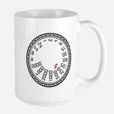 Leica Mode Dial Large Mug