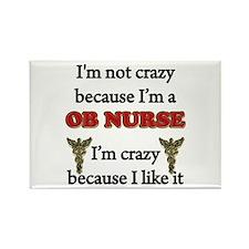 Im Not Crazy - OB Nurse Magnets