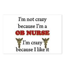 Cute Student nurse humor Postcards (Package of 8)