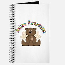 Autism Awareness Bear Journal
