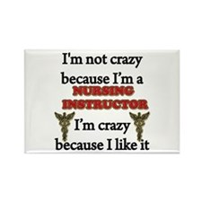 Im Not Crazy - Nurse INST. Magnets