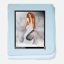 Mermaid, Tranquility baby blanket