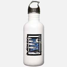 Game Fish Art Water Bottle