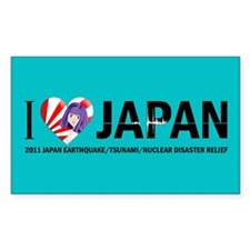 Japan Relief Decal