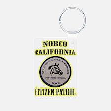 Norco Citizen Patrol Keychains
