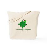 Crawling Champion Tote Bag