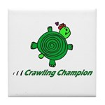 Crawling Champion Tile Coaster
