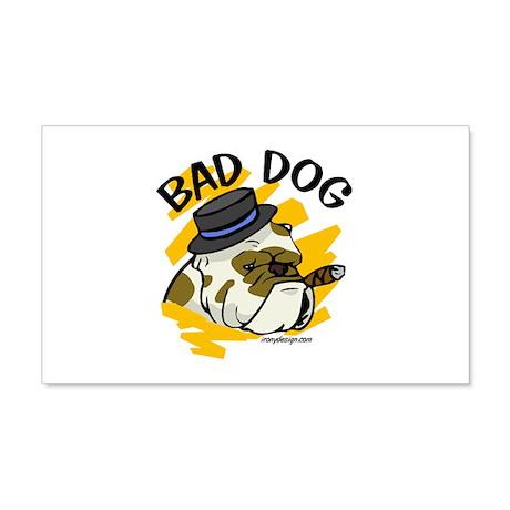 Bad Dog 22x14 Wall Peel
