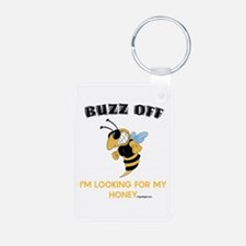 Buzz Off Bee Keychains