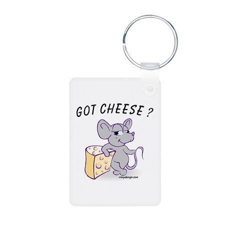 Got Cheese? Aluminum Photo Keychain