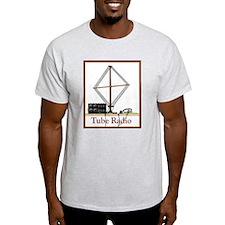 Tube Radio Grey T-Shirt