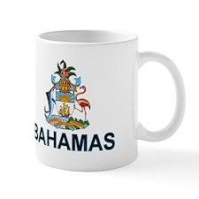 Bahamian Arms (labeled) Small Mug