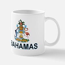 Bahamian Arms (labeled) Small Small Mug