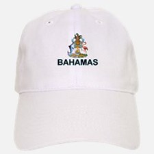 Bahamian Arms (labeled) Baseball Baseball Cap