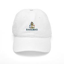 Bahamian Arms (labeled) Baseball Cap