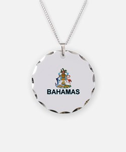 Bahamian Arms (labeled) Necklace