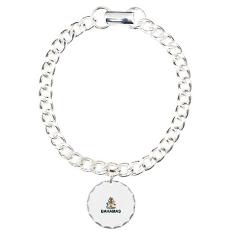 Bahamian Arms (labeled) Charm Bracelet, One Charm