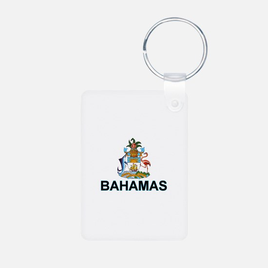 Bahamian Arms (labeled) Keychains