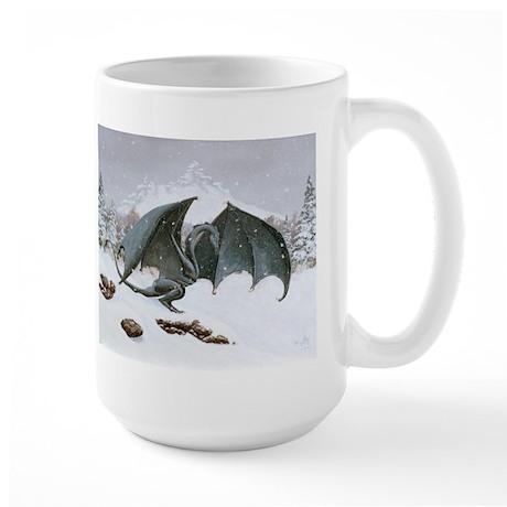 Winter Dragon: Large Mug