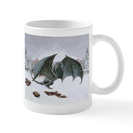 Winter Dragon: Mug